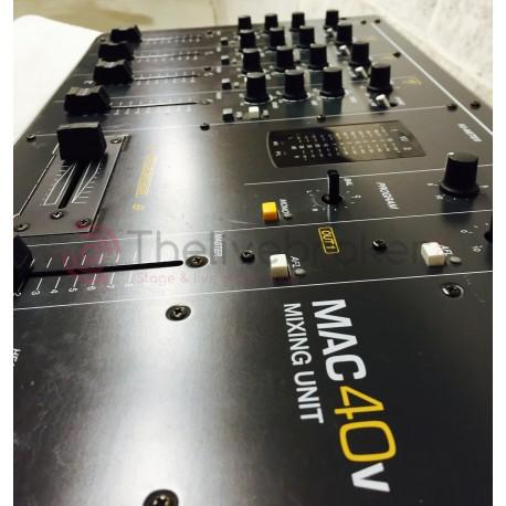 MAC 40V - Console - Mixage - ECLER - Vente - Occasion