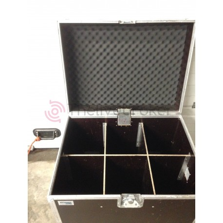 Flight Case - Malle 6 compartiments - Vente Occasion