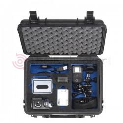 B&W 1000 GO PRO - Valise plastique Outdoor Cases avec intérieur en mousse - Idéal pour GO PRO