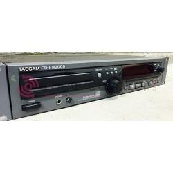 CD RW2000 - Lecteur - Enregistreur - Tascam - Vente - Occasion
