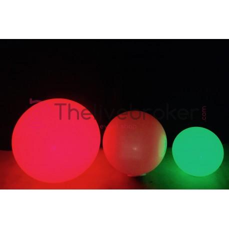 3 boules lumineuses à LED Multicolore - Slide - Ocassion