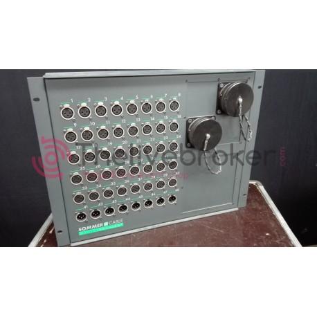 Stagebox équipé 48 paires + Multipaire 50m & Epanoui