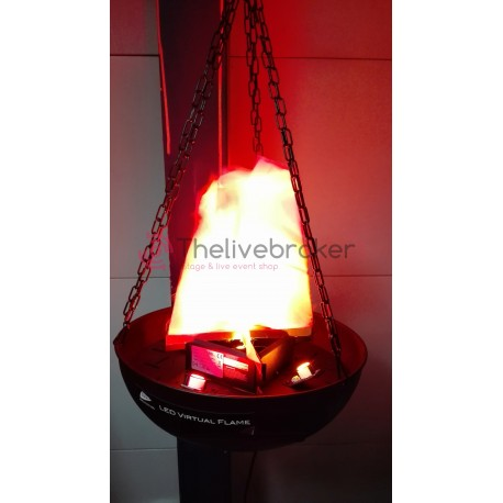 LED VIRTUAL FLAME - état neuf
